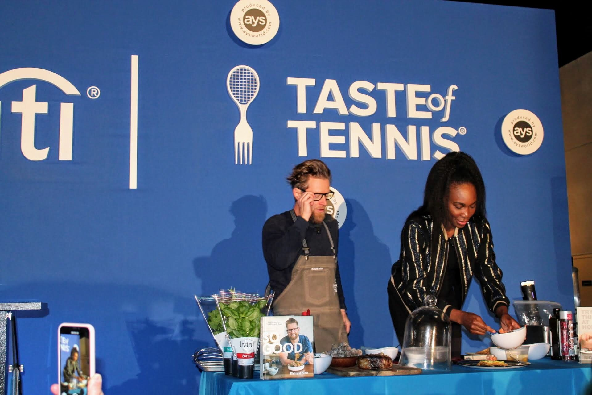 Venus Williams Cooking Demo