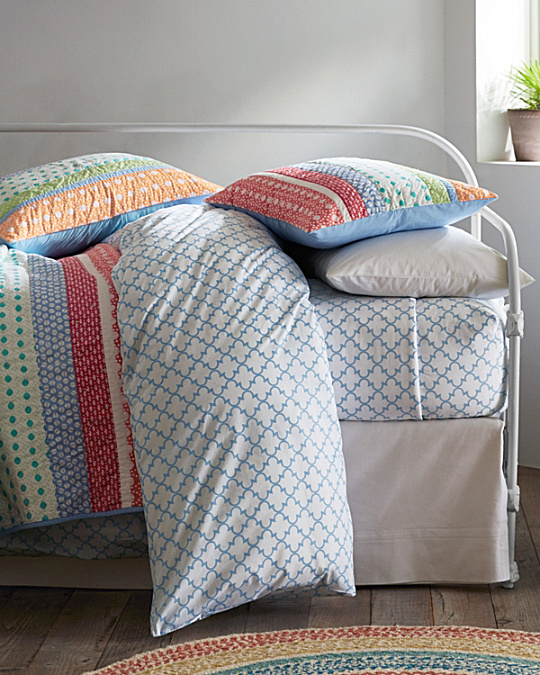 Everyday Printed Percale Bedding