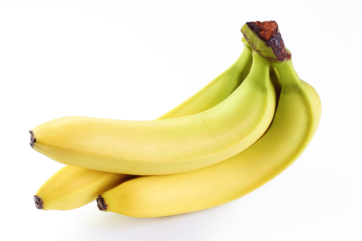 Bananas are a great resource for potassium and magnesium