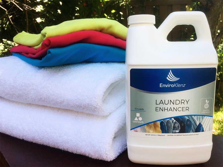 EnviroKlenz better for you laundry enhancer