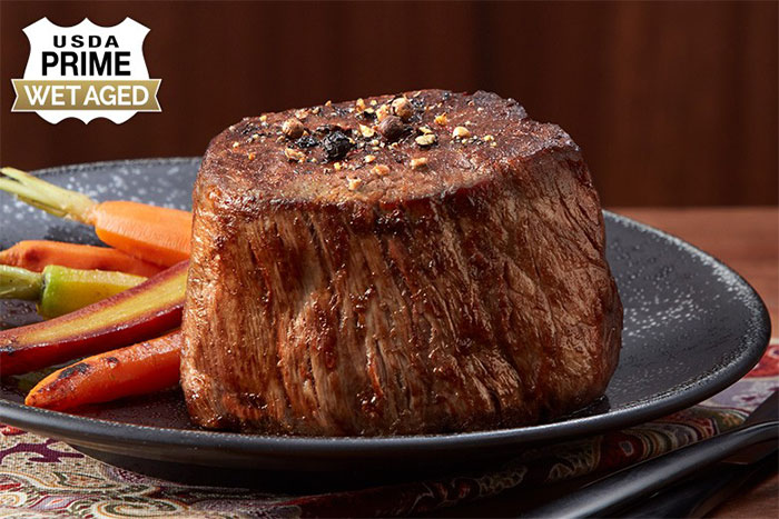 Chicago Steak Company USDA Prime Wet Aged Filet Mignon
