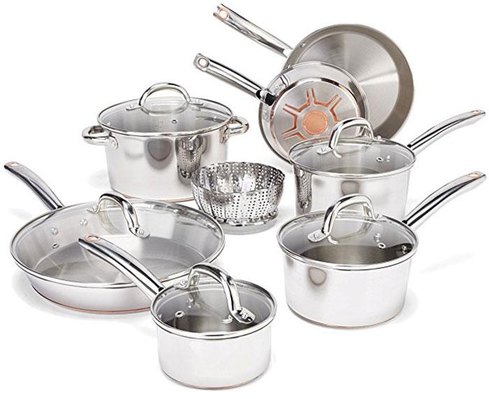 T-FAL 15 Piece Cookware Set