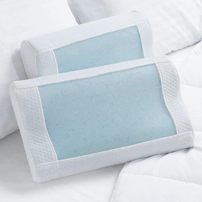 Luxor Linens Fresco Cooling Countour Pillow