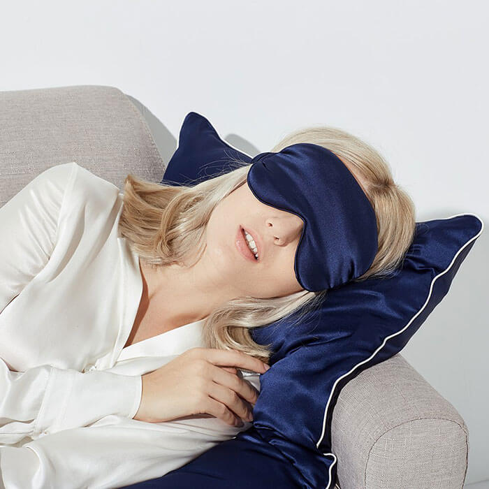 JINSANTA Natural Silk Sleep Mask
