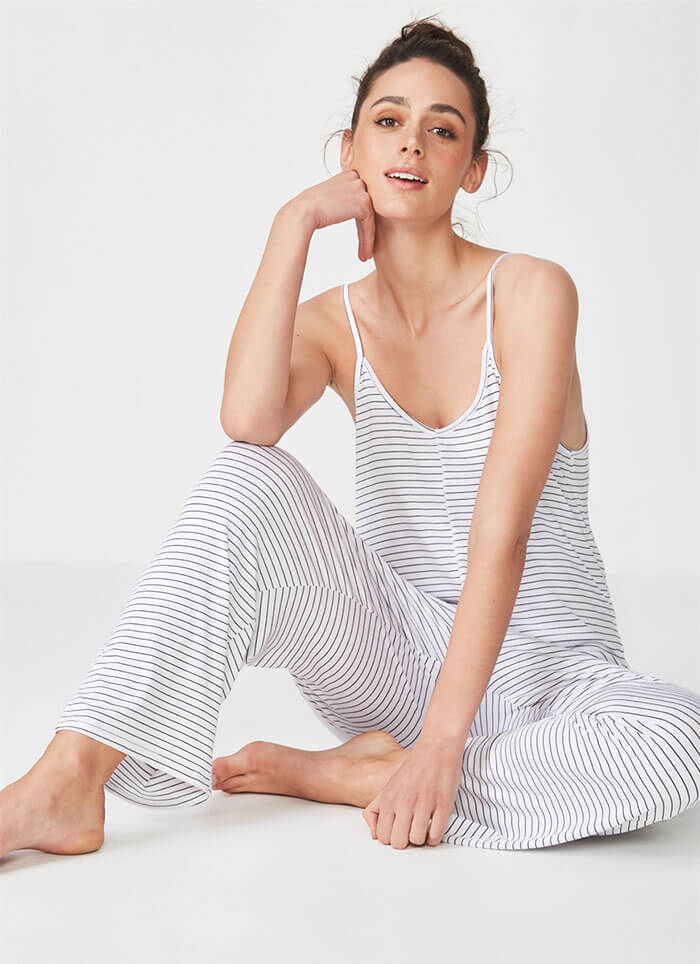 Cotton On Sleep Recovery Strappy Jumpsuit