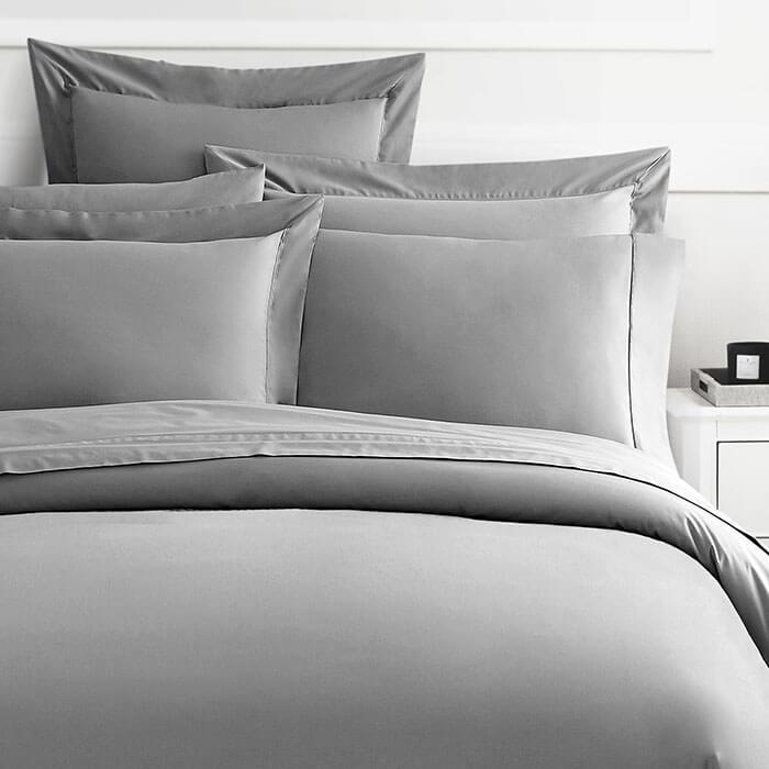 Luxor Linens Delano Organic Duvet Cover
