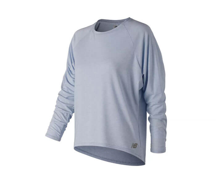 New Balance Release Open Back Long Sleeve Top
