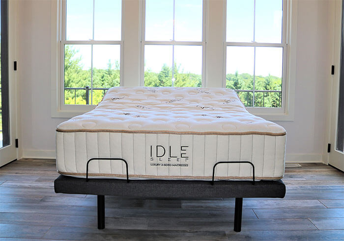 "IDLE Sleep 14"" Double Sided Latex Hybrid Mattress"