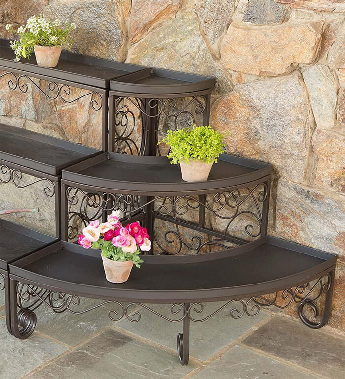 Plow & Hearth Three-Tier Plant Stand