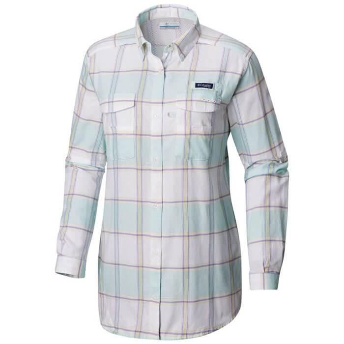 Columbia PFG Bonehead Flannel Long Sleeve Shirt