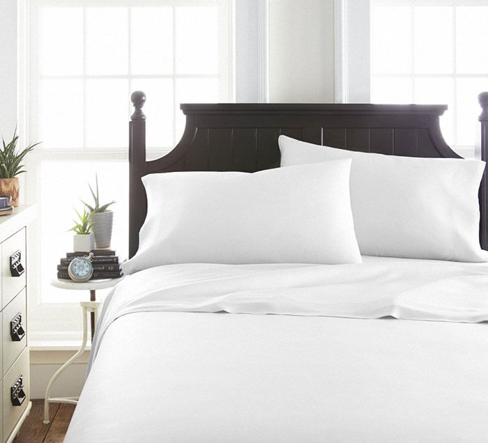 Linens & Hutch 4-Piece Luxury Bamboo Sheet Set