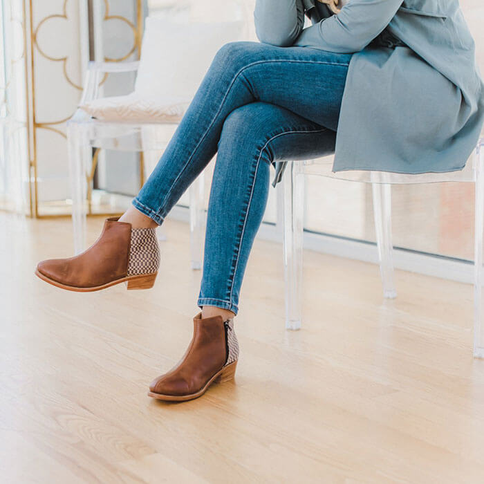 The Root Collective Slate Ankle Boots