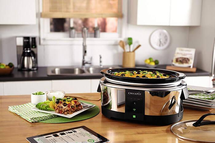 Crock-Pot Wemo Smart Wifi Enabled Slow Cooker 6 Quart