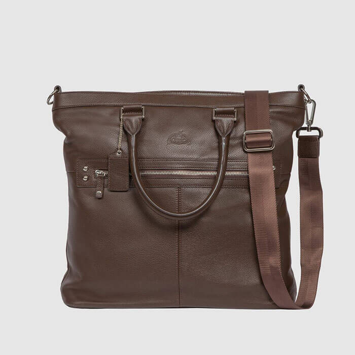 Buxton Dopp Brookfield Collection Zip Accent Tote