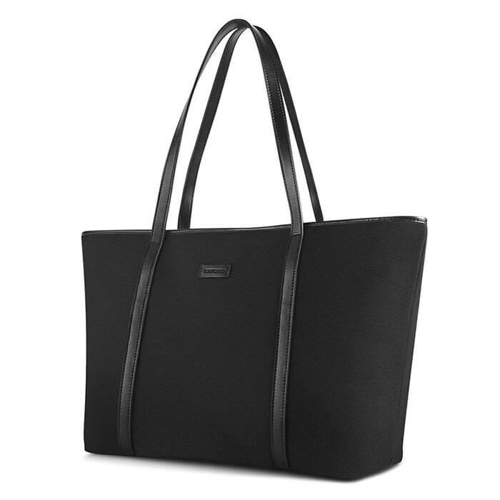 Chiceco Basic Spacious Big Work Laptop Tote Shoulder Bag