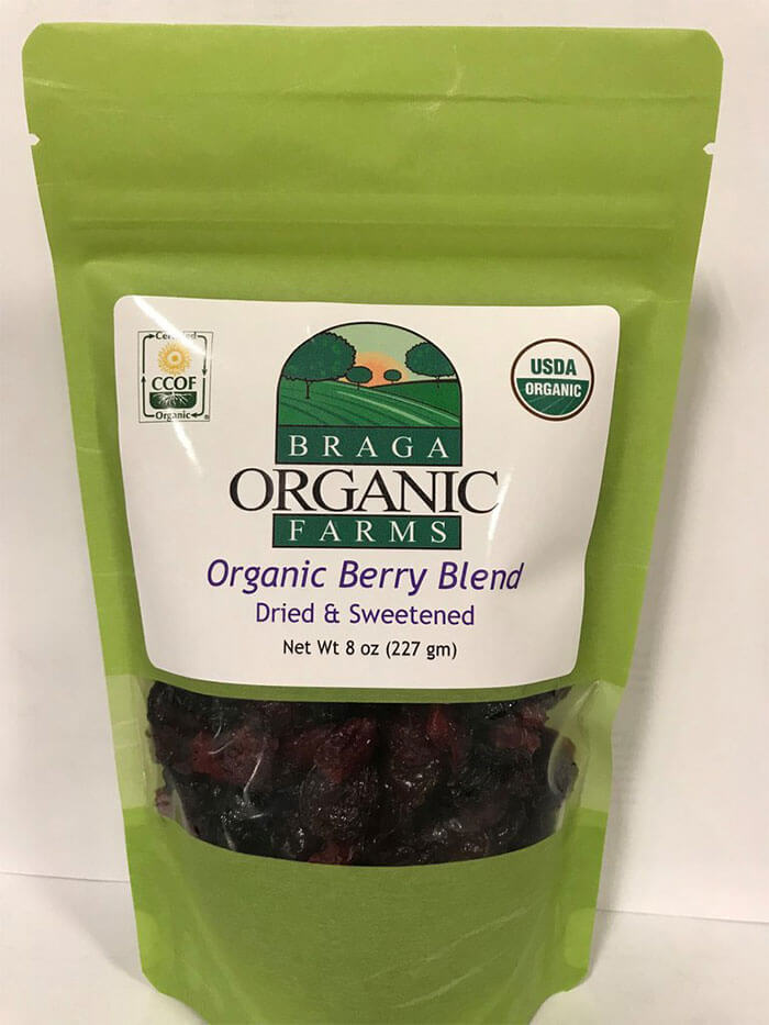 Braga Organic Farms Berry Blend