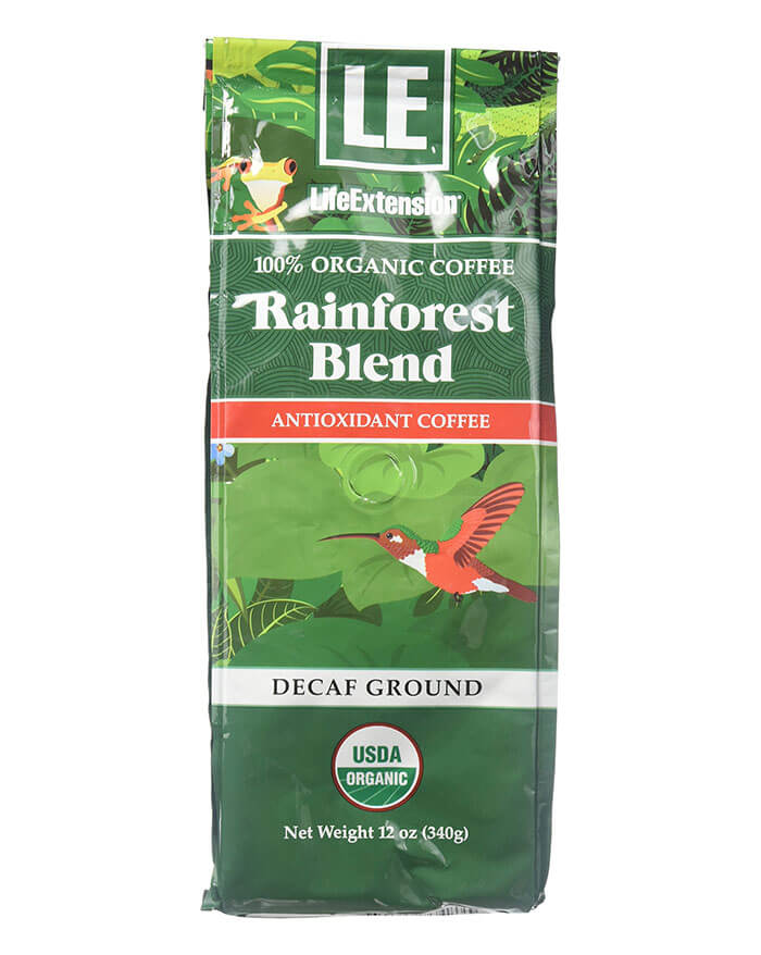 LifeExtension Organic Ground Decaf Coffee