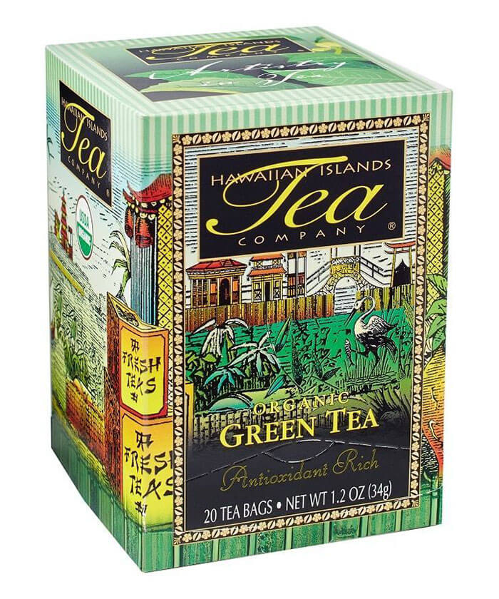 Hawaii Coffee Company Organic Green Tea