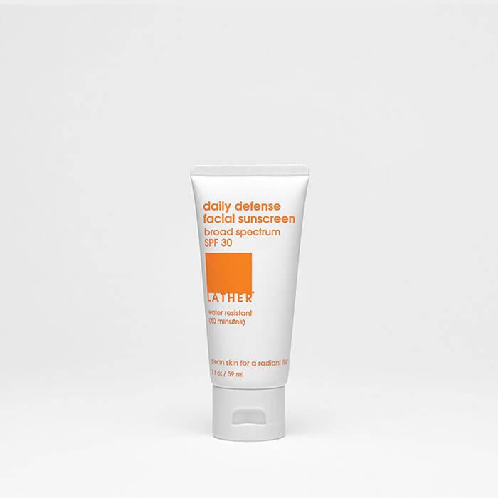 Lather Daily Defense Facial Sunscreen SPF 30
