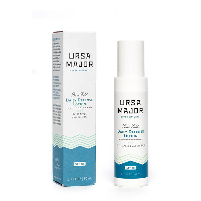Fig & Flower URSA Major Force Field Daily Defense Lotion SPF 18