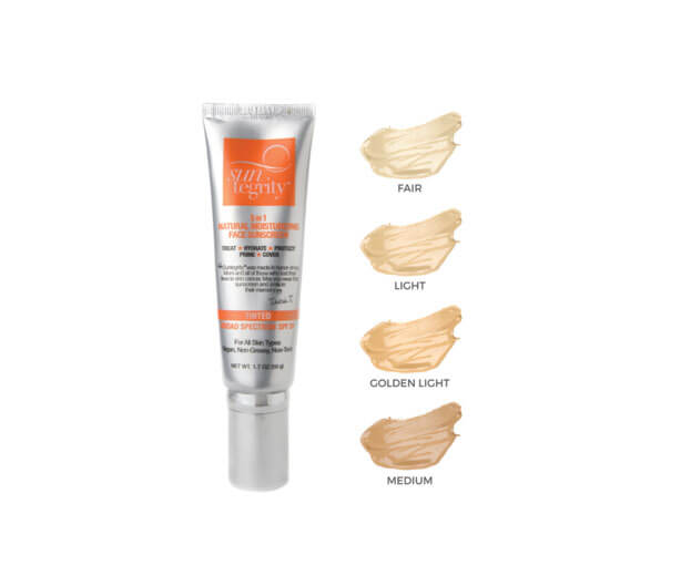 "Clean Beauty Mart ""5 in 1"" Natural Moisturizing Face Sunscreen SPF 30"