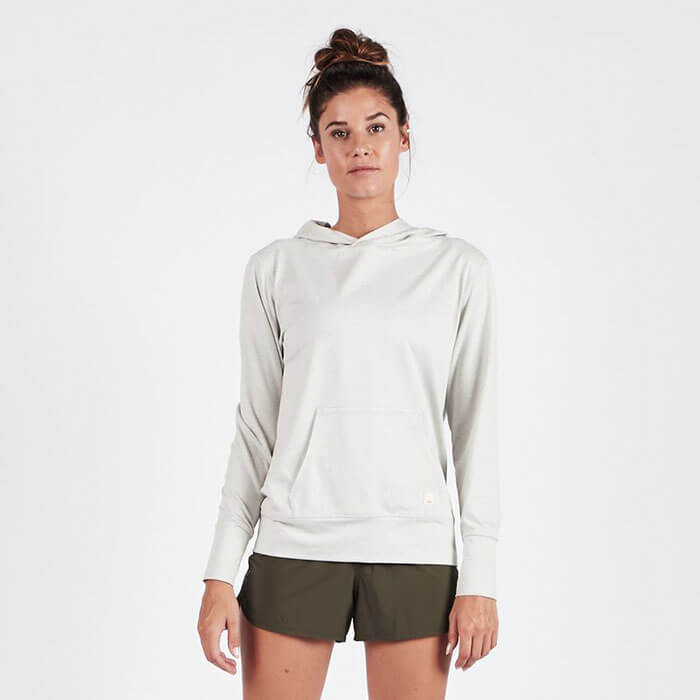 Vuori Halo Performance Pullover Dove Grey Heather