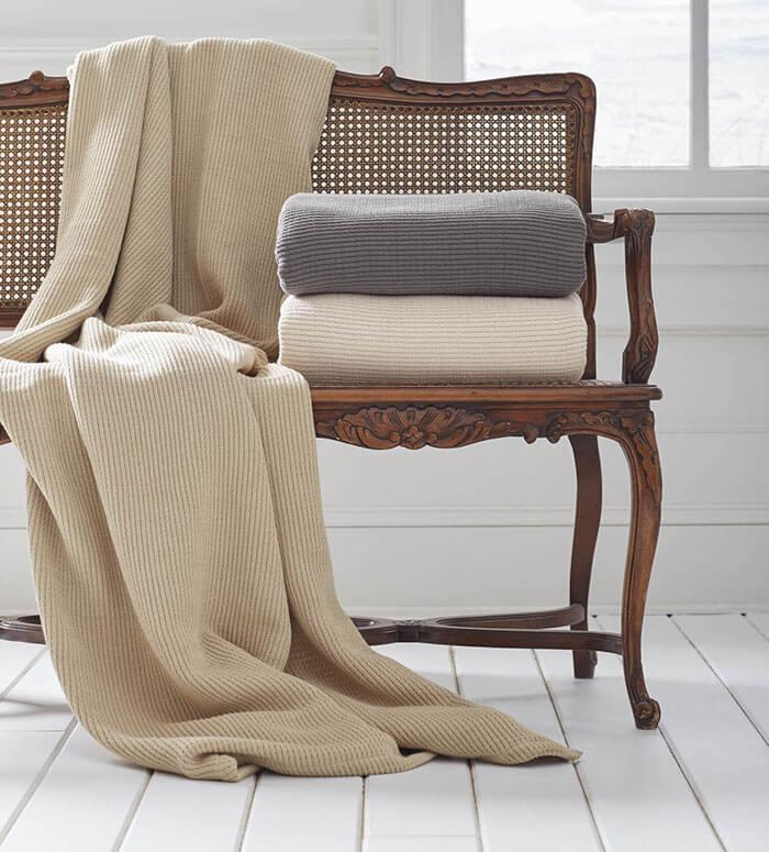Grund America Organic Cotton Throw Blankets