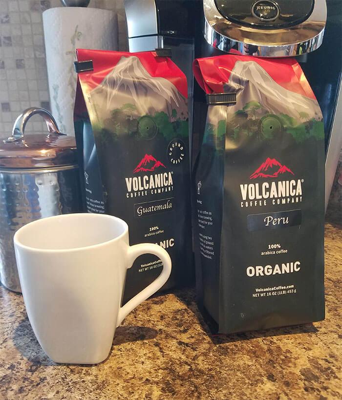 Volcanica Coffee Company Organic Coffee