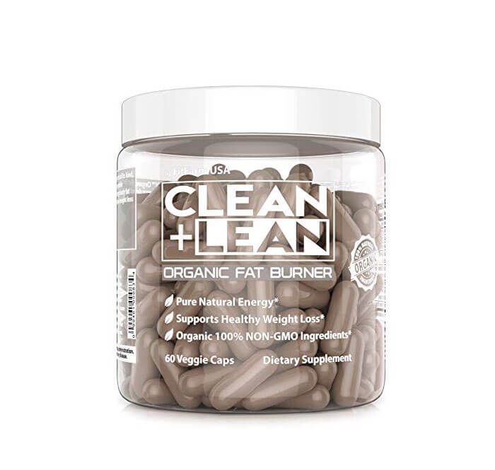 FIT FARM USA Clean + Lean Organic Fat Burner