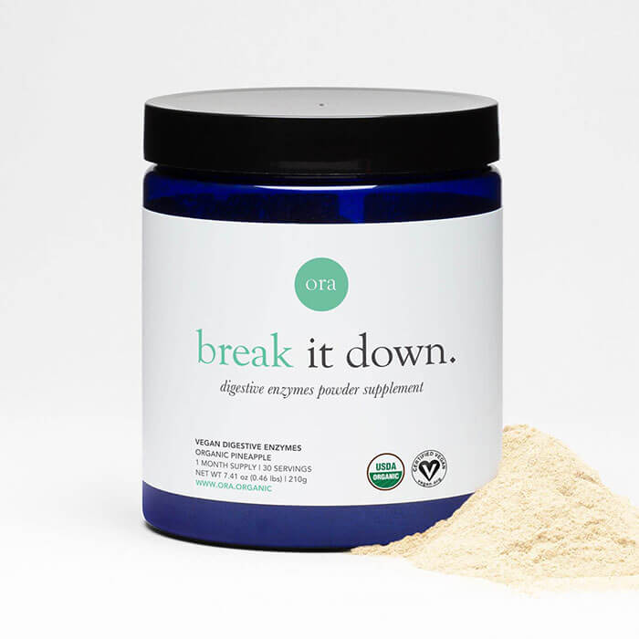 ORA Plant-Based Digestive Enzymes Powder