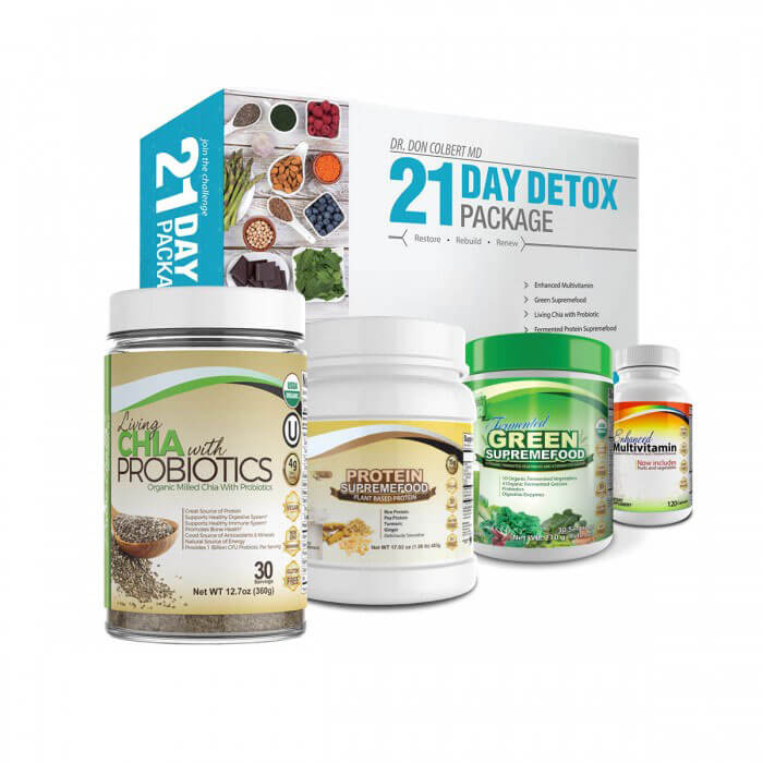 DrColbert.com 21 Day Detox Package