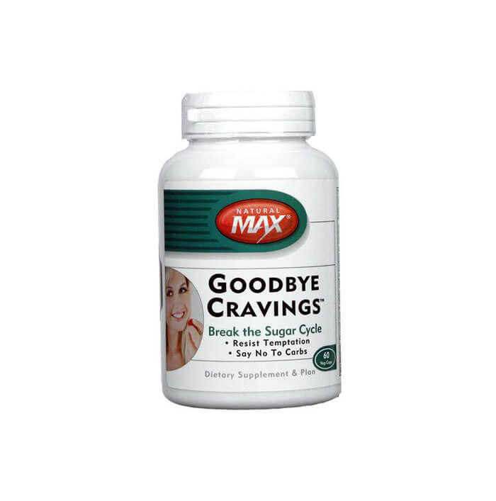 eVitamins NaturalMax Goodbye Cravings 60 VCapsules