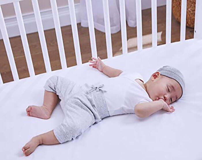 Sealy Soybean Faom-Core Crib Mattress