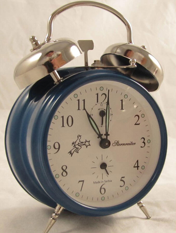Sternreiter Double Bell Alarm Clock