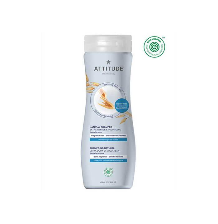 ATTITUDE Extra Gentle & Volumizing Natural Shampoo