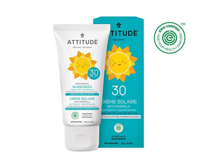 ATTITUDE Natural SPF 30 Sunscreen
