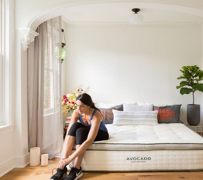 Avocado Green Apartment Mattress