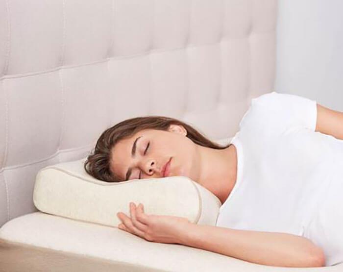 Keetsa Tea Leaf Contour Pillow