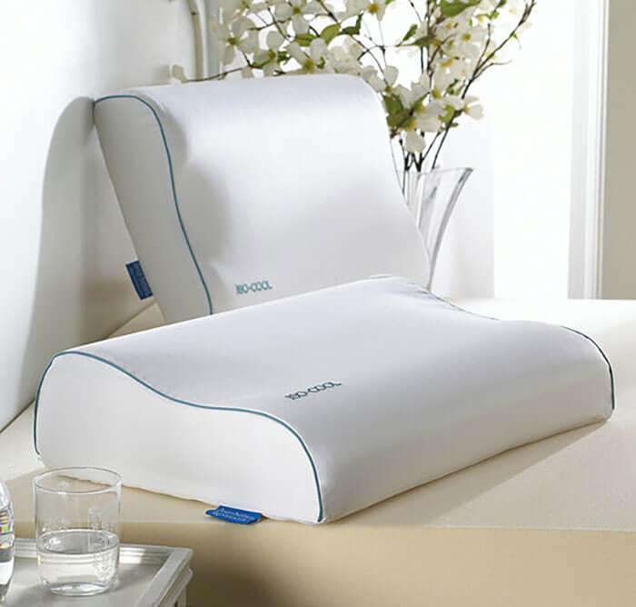 Pillows.com Carpenter Iso-Cool Visco Elastic Contour Pillow