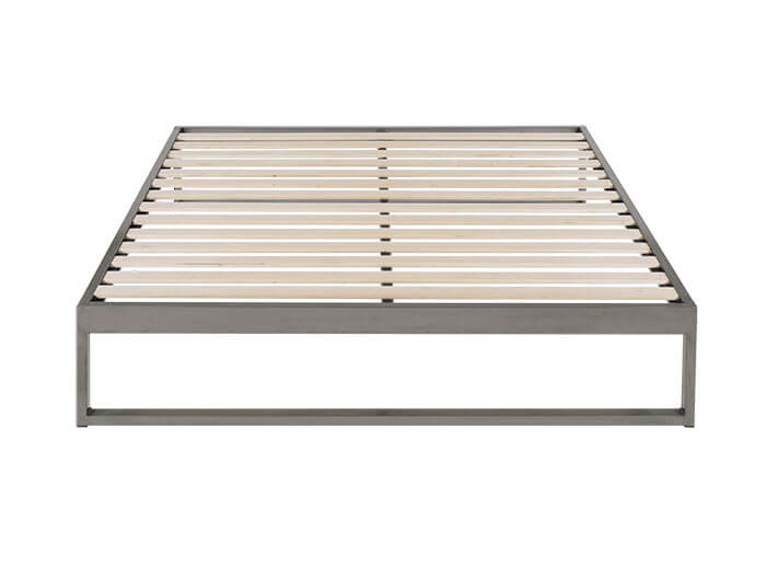 Keetsa Minimo Industrial Gunmetal Steel Bed Frame