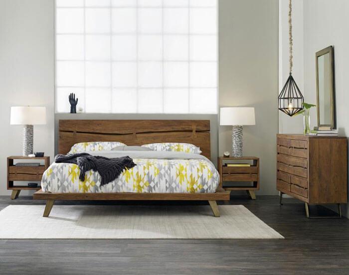 Hooker Furniture Transcend Queen Platform Bed