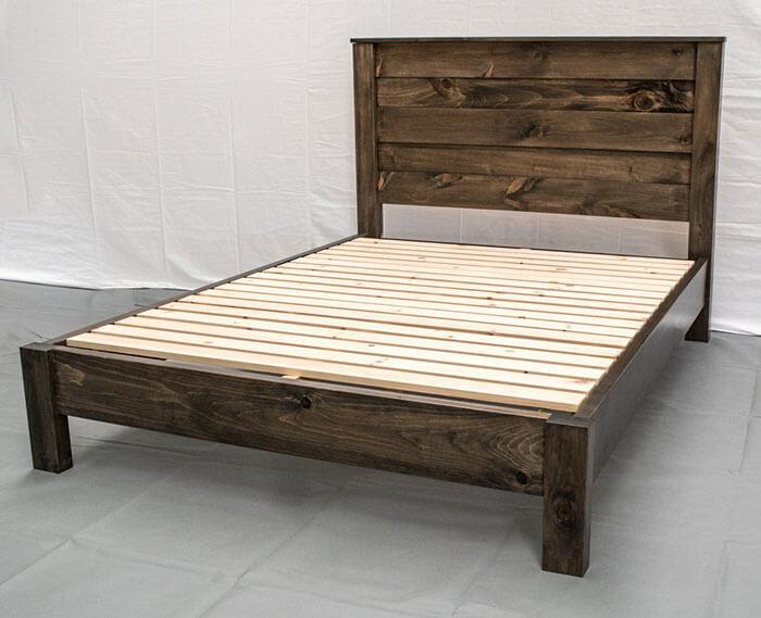 Midwest Farmhouse Rustic Farmhouse Platform Bed
