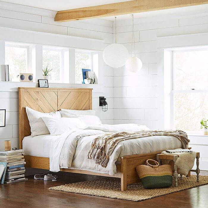Stone & Beam Parson Queen Bed