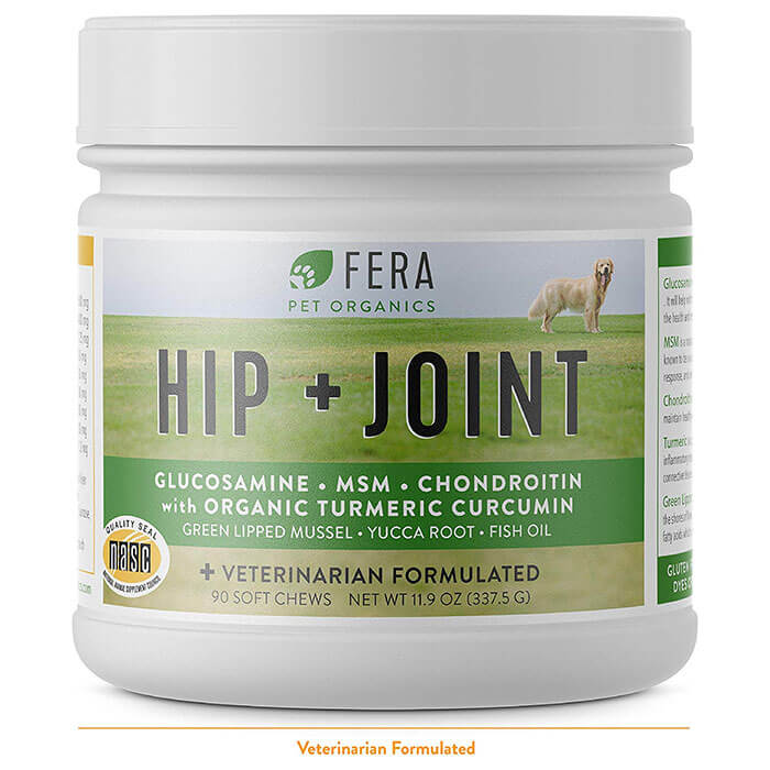 FERA PET ORGANICS Natural Hip and Joint Supplement