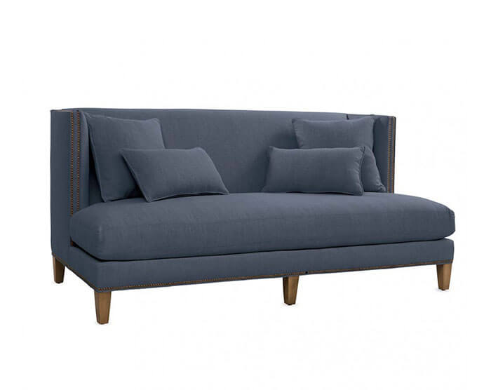 Viva Terra Lee Industries Square Back Sofa