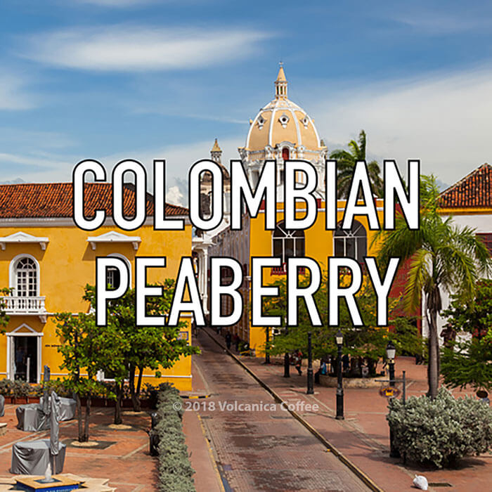 Volcanica Colombian Peaberry Coffee