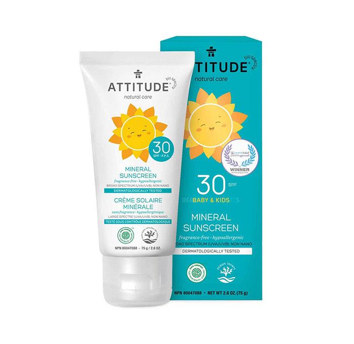 ATTITUDE Mineral Sunscreen SPF 30