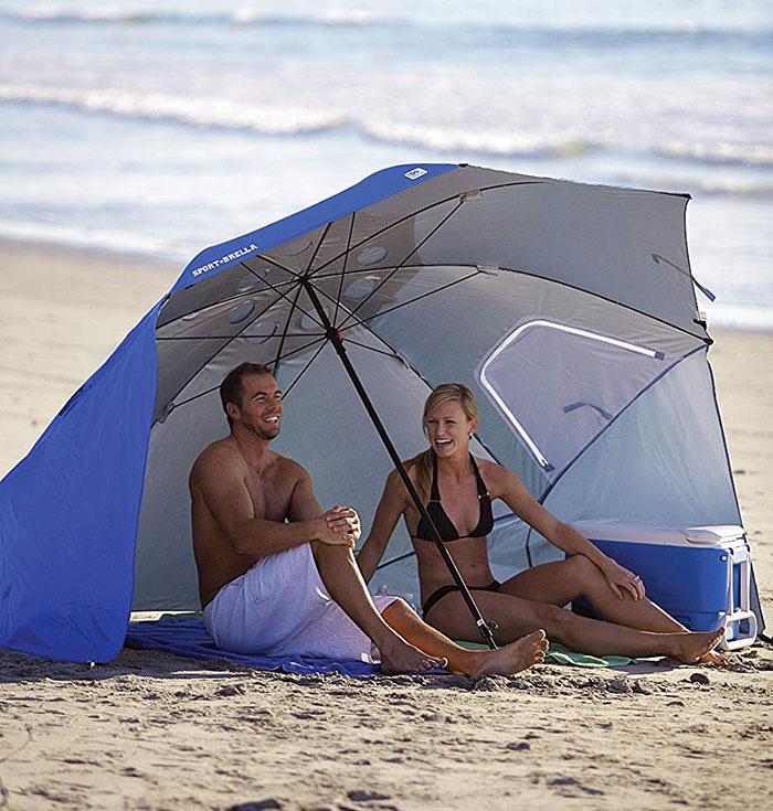 Sport-Brella Vented SPF 50+ Canopy Umbrella