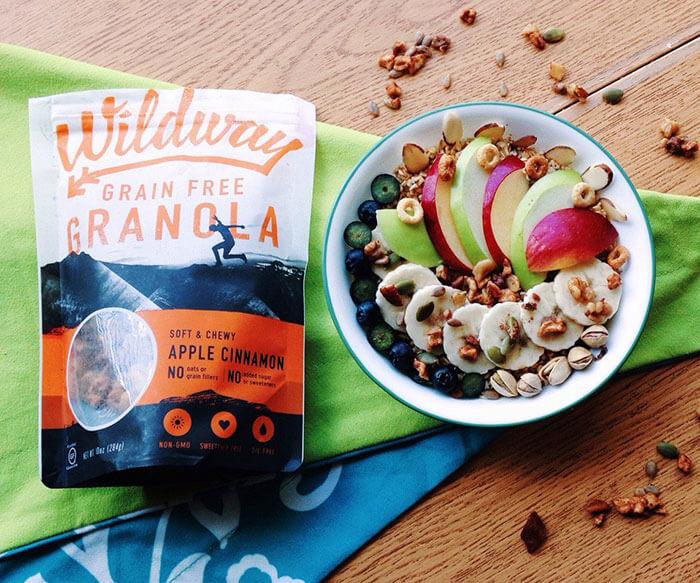 Wildway Apple Cinnamon Grain-free Granola