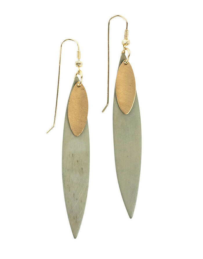 Ten Thousand Villages Delicate Edge Earrings
